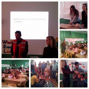 Predavanja djelatnika Crvenog križa